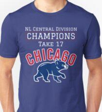 Chicago Cubs 2017 NL Champs Unisex T-Shirt