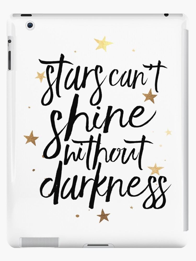 u0026quot  nursery  stars can u0026 39 t shine without darkness kids room