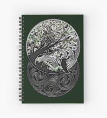 Beltane design #1 Spiral Notebook
