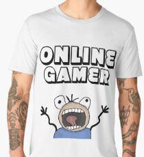online gamer Men's Premium T-Shirt