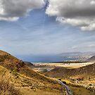 Road to Puerto de Mazarron by Squealia