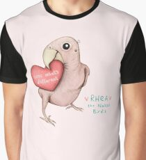 Rhea - Love What's Different Graphic T-Shirt