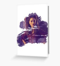 Clara Oswin Oswald Greeting Card