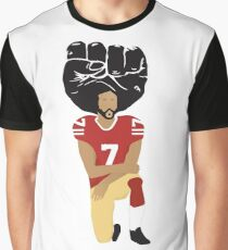 Colin Kaepernick Kneeling - I'm With Kap Graphic T-Shirt
