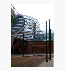Tram lines Photographic Print
