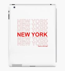 New York - Have a Nice Day iPad Case/Skin