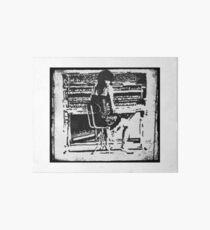 Tori Amos at the Piano Little Earthquakes Era Art Board