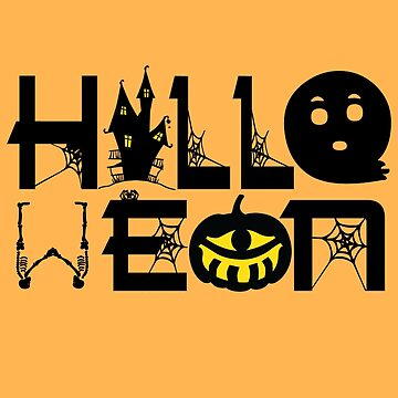 Halloween Party Design by 3js-unlimited