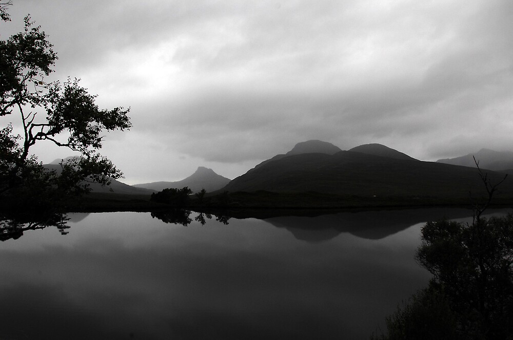 Stac Pollaidh & Other Mountains Reflected by photobymdavey
