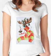 Christmas Ardi Women's Fitted Scoop T-Shirt