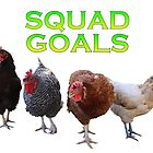 Chicken Squad Goals by misimichu