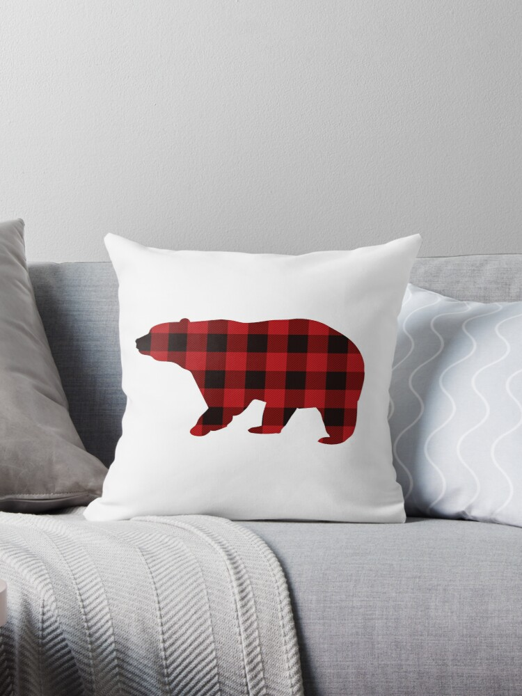 Cojines «Country Christmas Cottage Primitivo leñador Buffalo Plaid ...