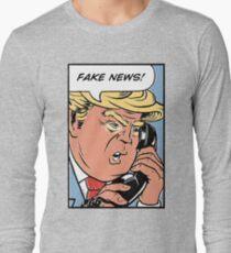 Donald Trump Pop Art: Fake News! T-Shirt