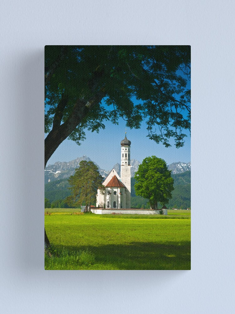 Alternate view of Kolomanskirche (Alan Copson © 2008) Canvas Print