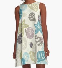 A Walk on the Beach A-Line Dress