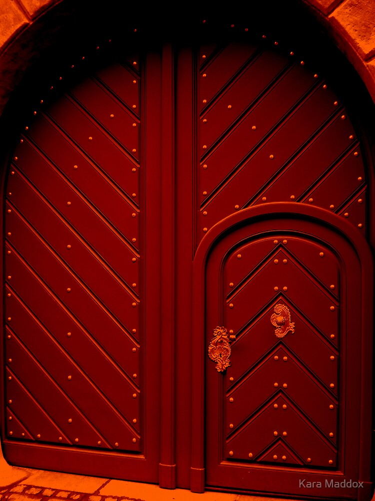 red door by Kara Maddox