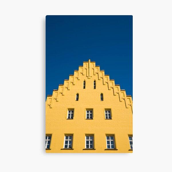 Germany. Bavaria. Landshut. (Alan Copson © 2008) Canvas Print