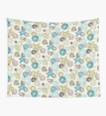 A Walk on the Beach Wall Tapestry