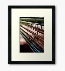 Structure  Framed Print