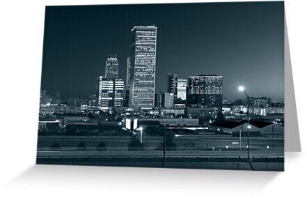 Tulsa Skyline (Alan Copson © 2007) by Alan Copson