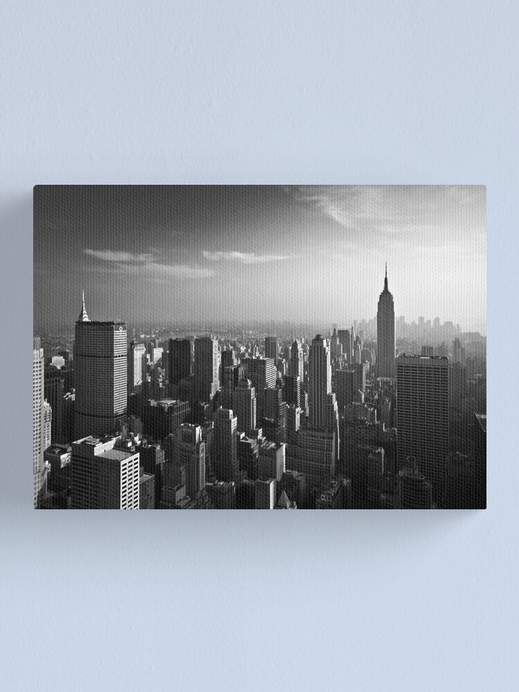 Alternate view of Manhattan Skyline with Empire State Building (Alan Copson ©) Canvas Print
