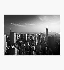 Manhattan Skyline with Empire State Building (Alan Copson ©) Photographic Print