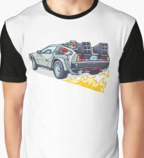 D.M.C OUTATIME Graphic T-Shirt