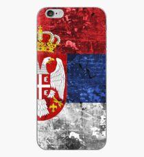 Serbian Flag iPhone Case