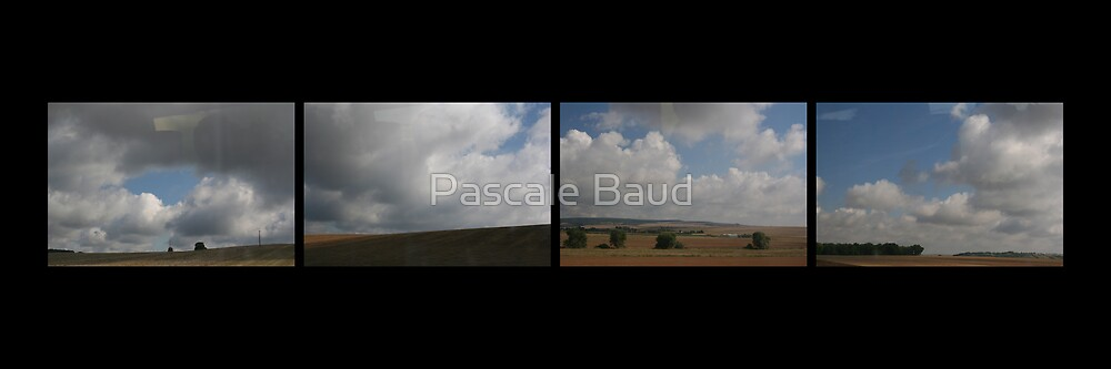 Between Paris & Valence... #2 by Pascale Baud