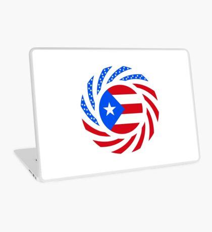 Puerto Rican American Multinational Patriot Flag Series Laptop Skin