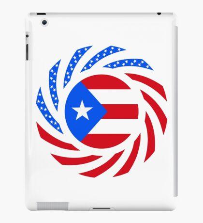 Puerto Rican American Multinational Patriot Flag Series iPad Case/Skin