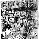 Dark day night sketch by Lasaration