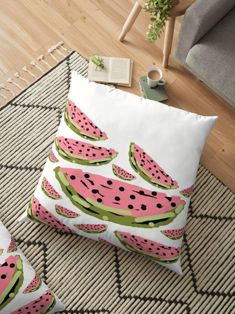 Watermelon Summer pattern by HEVIFineart