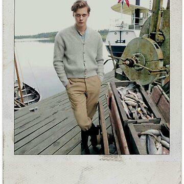 Celebrity: Bill Skarsgard [Polaroid] by FoxGroves