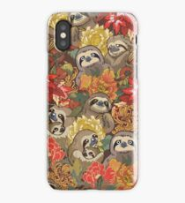 Because Sloths Autumn iPhone XS Case