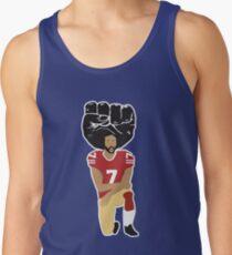 6d73b5b5016697 Colin Kaepernick Kneeling Women s Tank Top. Colin Kaepernick Kneeling - I m  With Kap Men s ...