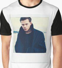 Celebrity: Bill Skarsgard [Polaroid] Graphic T-Shirt
