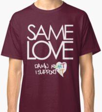 Same Love - Macklemore Lyrics (Dark Tops) Classic T-Shirt