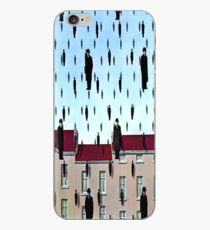 Golconda by  René Magritte iPhone Case