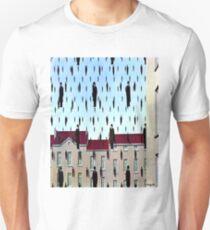 Golconda by  René Magritte Unisex T-Shirt