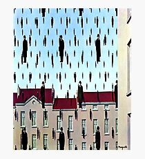 Golconda by  René Magritte Photographic Print