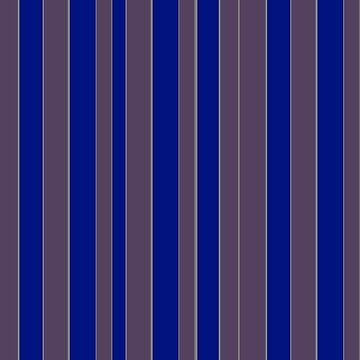 Taupe blue executive stripe pattern    by HEVIFineart