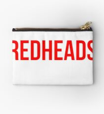 I Prefer Redheads - Ginger Redhead Studio Pouch