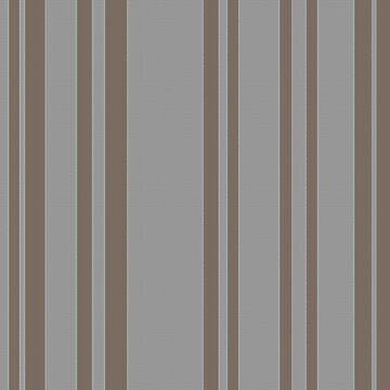 Taupe gray awning stripe pattern by HEVIFineart