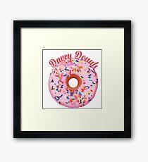 Davey Donuts Framed Print