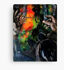 precipices and fears Canvas Print