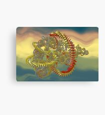 Wrap And Roll 1 Canvas Print