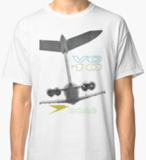 VC-10 WhaleTail Graphic Classic T-Shirt