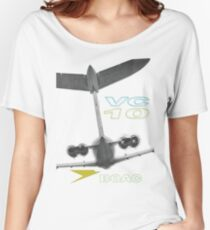 VC-10 WhaleTail Graphic Women's Relaxed Fit T-Shirt