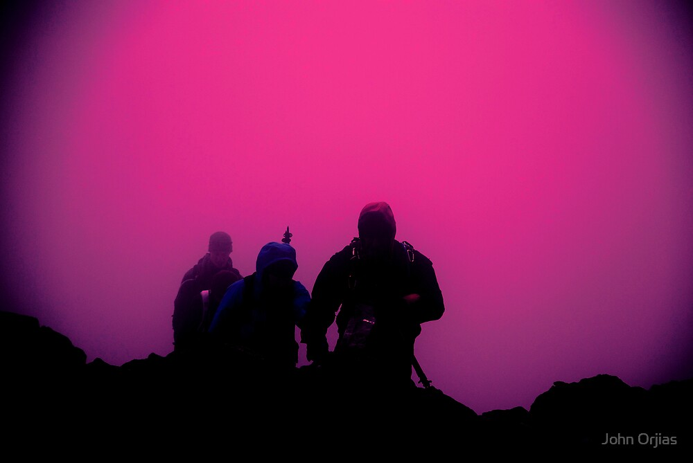 The climb by John Orjias